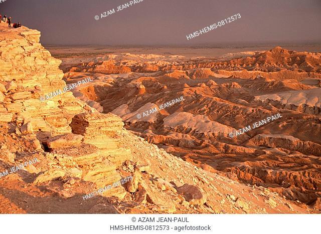 Chile, Antofagasta region, Atacama desert, San Pedro de Atacama, Valley of the Moon