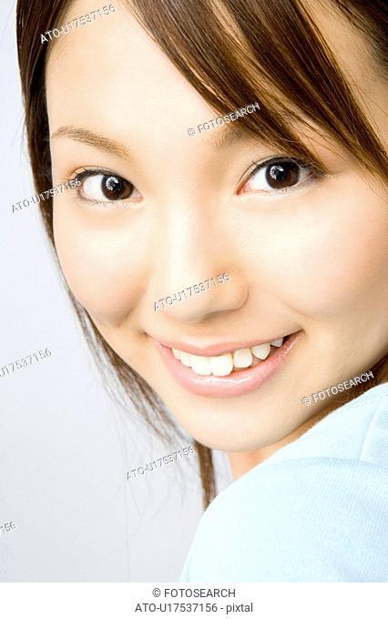 Portrait of Japanese woman
