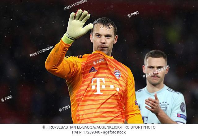 firo: 19.02.2019 Football, Football: Uefa Champions League, CL Season 2018/2019 Round of 16, First leg FC Liverpool - FC Bayern Munich Munich 0: 0 FCB...
