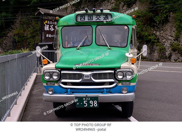 Around Oboke Gorges,trans,Shikoku, transportation, piss child monk,Tokushima County, Miyoshi City,Japan