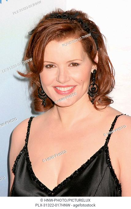 01/14/2006 Geena Davis G'Day LA: Australia Week 2006 - Penfolds Icon Gala Dinner @ The Hollywood Palladium, Hollywood photo by Fuminori Kaneko /www
