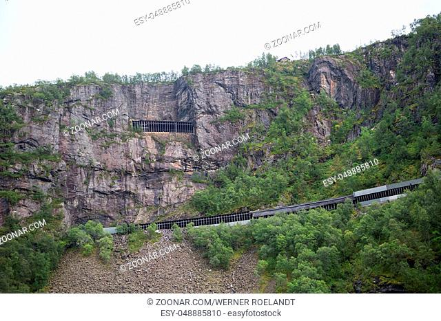The Flam Railway is one of the most beautiful train journeys in the world