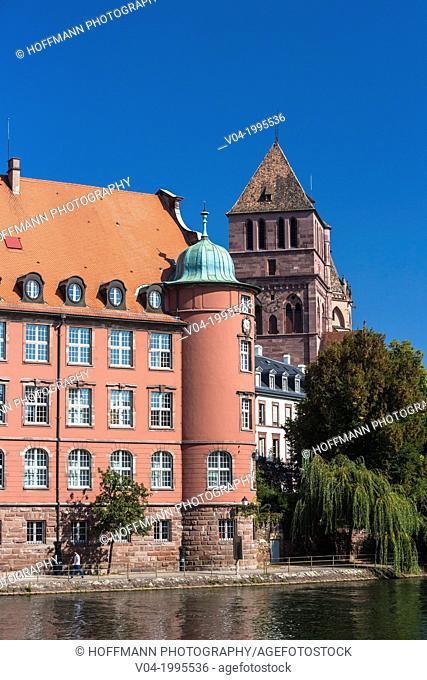Saint Thomas school (Ecole Saint Thomas) in Strasbourg, Alsace, France, Europe