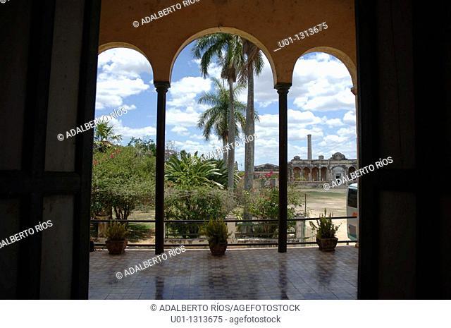 Hacienda Yaxcopoil. Yucatan. Mexico