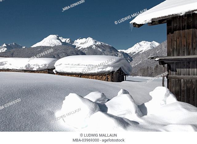 Austria, Tyrol, Mieminger plateau