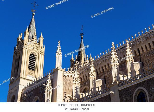 Europe, Spain, Madrid San Jerónimo el Real
