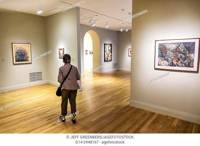 Washington DC, District of Columbia, Phillips Collection, art, museum, exhibit, viewing, gallery, paintings, interior inside