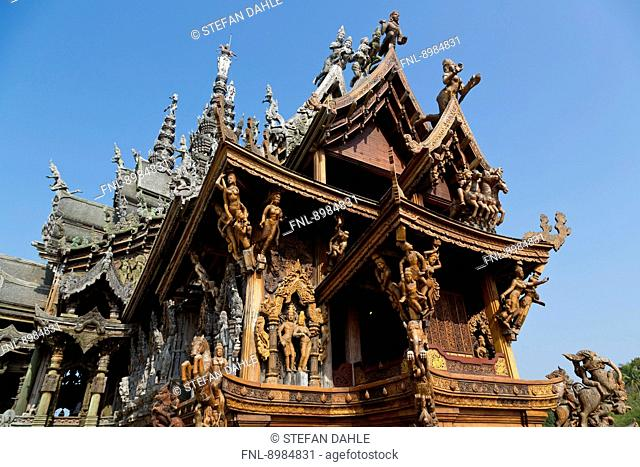 The Sanctuary of Truth, Pattaya, Thailand, Asia
