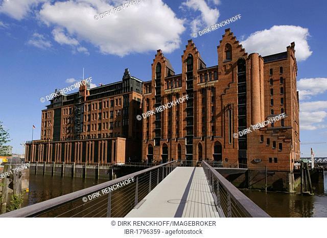 Maritime Museum Hamburg, Speicherstadt, warehouse district, Hamburg, Germany, Europe