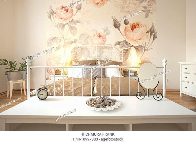 Apartment Interior- Cozy Bedroom in Modern Flat