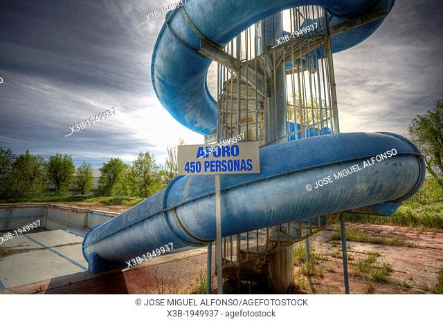 Abandoned water park, Aranjuez, Spain
