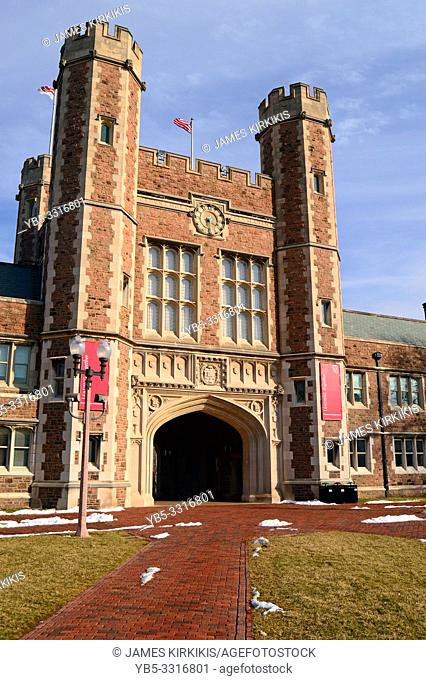 Brookings Hall at Washington University, St Louis