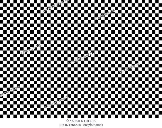 Karierter Hintergrund schwarz weiß