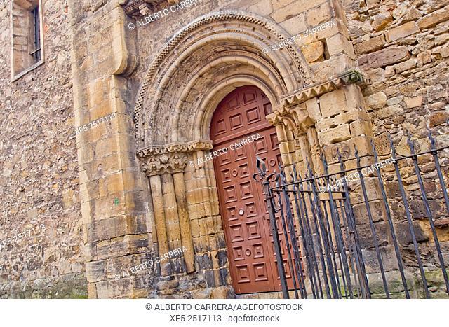 Sabugo's Old Church, St. Thomas of Canterbury's Church, Iglesia Vieja de Sbugo, Iglesia de Santo Tomás de Cantorbery, Old Fishermen's Quarter, Avilés, Asturias