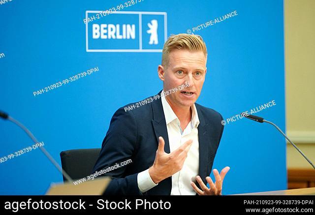 23 September 2021, Berlin: Stefan Donath, Managing Director of the Bundesmusikverband Chor & Orchester e.V. (Federal Music Association Choir & Orchestra)