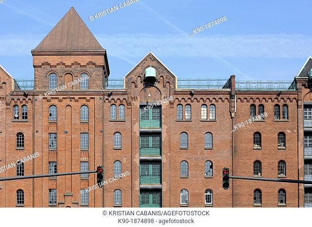 Speicherstadt, Hamburg, Germany, Europe