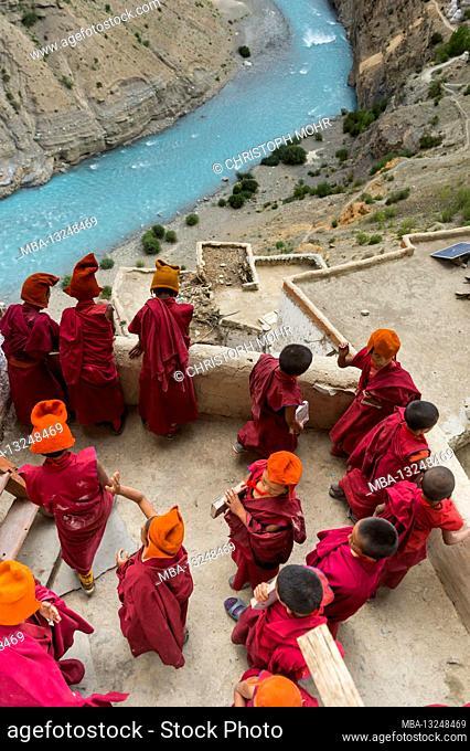 the Phuktal Gompa monastery
