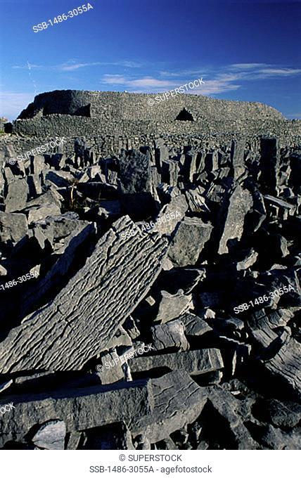 Dun Aengus Stone Fort Inishmore Ireland