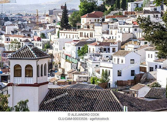 District of the Albaicin, Granada, Andalusia, Spain, Europe
