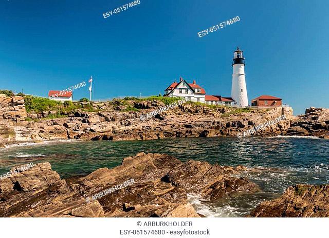 Portland Head Light in Maine