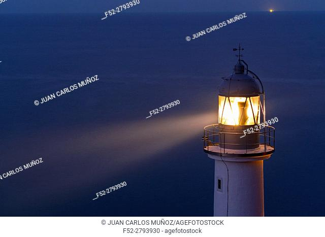 El Pescador Lighthouse, Santoña, Cantabrian Sea, Cantabria, Spain, Europe