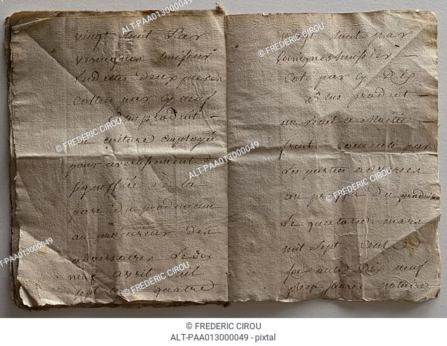 Aged documents