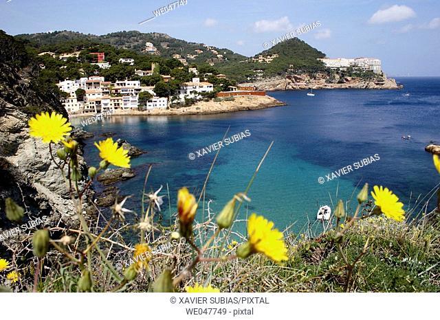 Sa Tuna. Costa Brava, Girona province, Spain