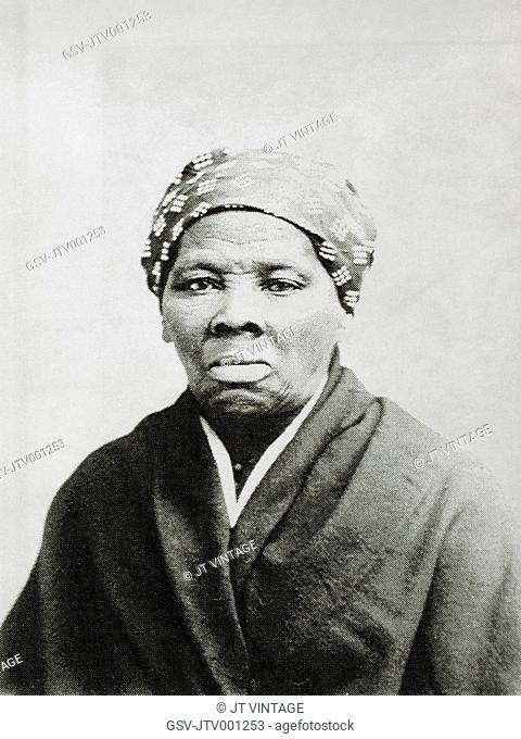 Harriet Tubman 1820-1913, American Abolitionist, Portrait, Circa 1885