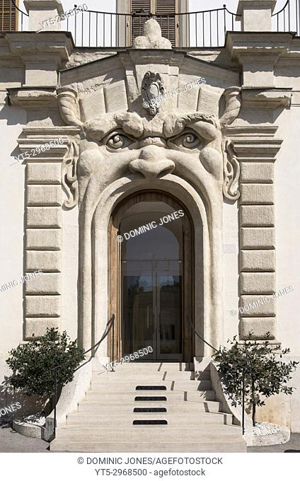 The Monster door on Zuccari Palace, Rome, Italy, Europe