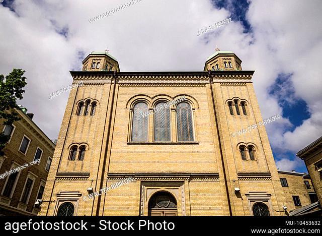 Sweden, Vastragotland and Bohuslan, Gothenburg, Gothenburg Synagogue, exterior