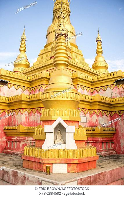 A pagoda near Pindaya, Myanmar