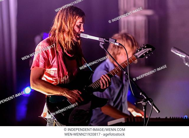 Tame Impala perform at the Beacon Theater Featuring: Tame Impala,Kevin Parker Where: New York City, New York, United States When: 11 Nov 2014 Credit:...