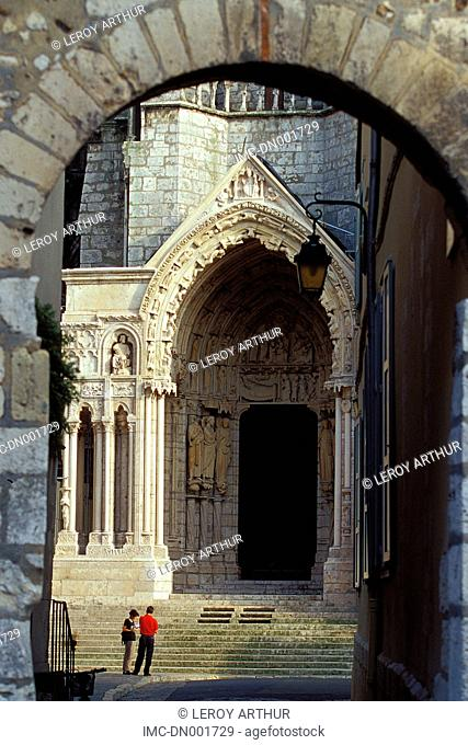 France, Centre, cathedral of Chartres, north gate