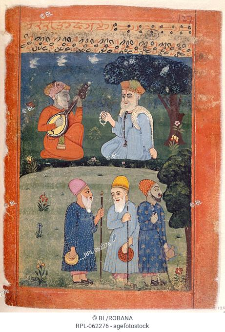 Guru Nanak Mardana & fakirs The fakirs asked Guru Nanak to leave the place as the Sayyid rulers of the country killed the Hindus