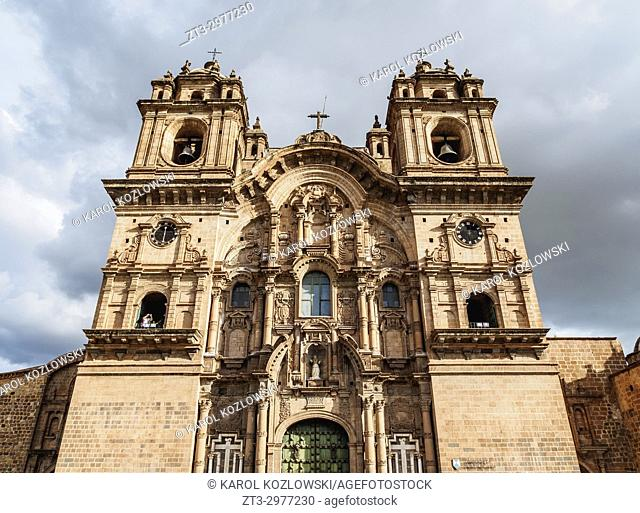 Church of the Society of Jesus, Main Square, Cusco, Peru