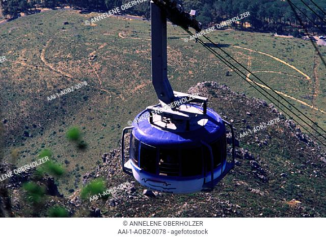 Cable Car, Table Mountain, Cape Town, Western Cape, South Africa