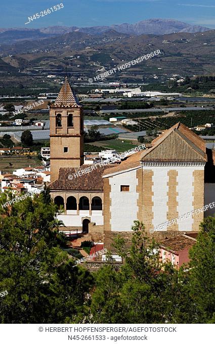 Iglesia (Church) de Santa Maria la Mayor, Velez Malaga, Costa del Sol, Andalucia, Spain, Europe