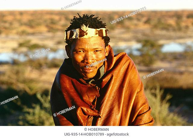 Bushman, South Africa