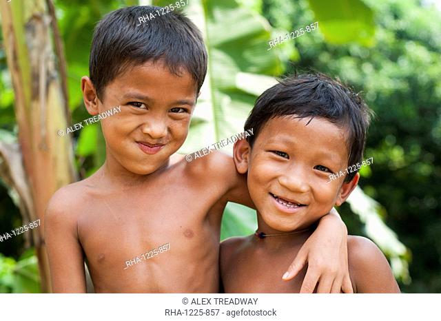 Children from Rangamati, Chittagong Hill Tracts, Bangladesh, Asia