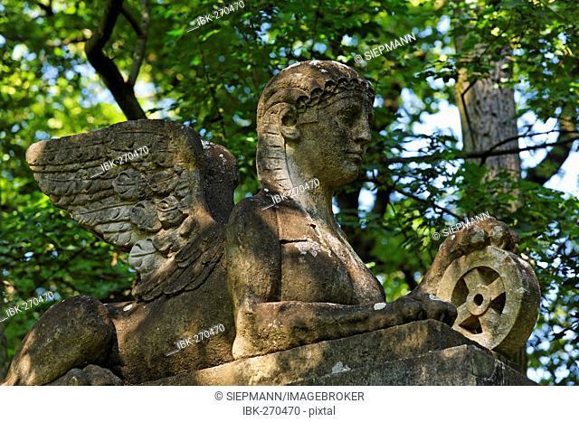 Heinrich Carl von Gleichen memorial, Regensburg, Upper Palatinate, Bavaria, Germany