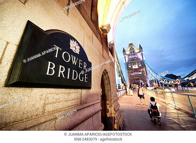 Tower Bridge, London, United Kingdom, Europe