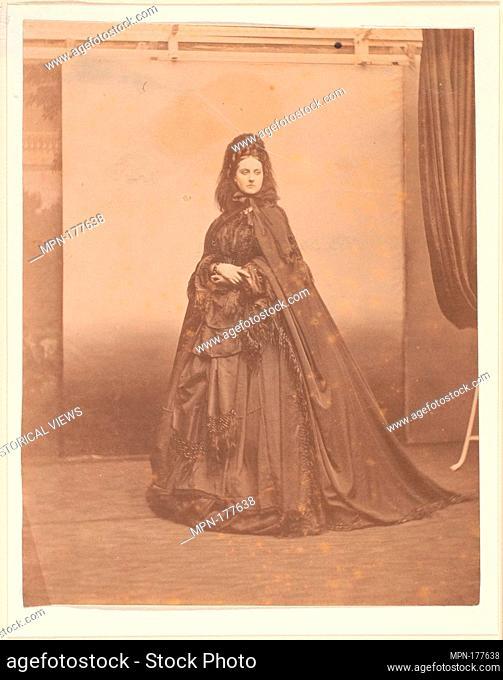 Funerale. Artist: Pierre-Louis Pierson (French, 1822-1913); Date: 1860s; Medium: Albumen silver print from glass negative; Classification: Photographs; Credit...