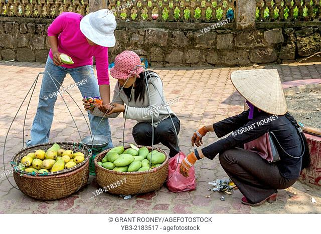 The Colourful Market In Sa Pa, Lao Cai Province, Vietnam