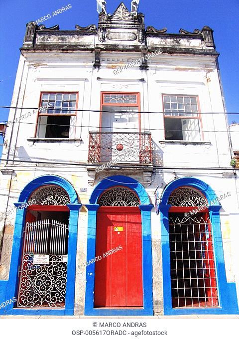 a historical building facade from pernambuco