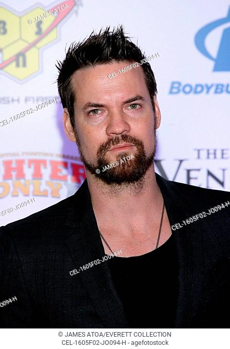 Shane West at arrivals for 8th Annual Fighters Only World Mixed Martial Arts MMA Awards, The Palazzo Waterfall Atrium and Gardens, Las Vegas, NV February 5