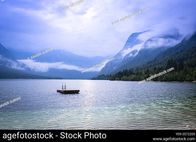 Lake Bohinj, Municipality of Bohinj, Triglav National Park, Slovenia