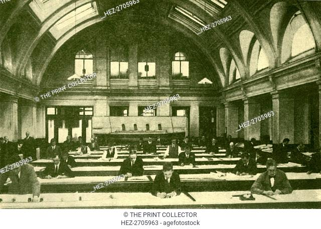 'Messrs. Harland & Wolff's Drawing Office, Belfast', c1930. Creator: Unknown