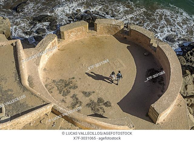 Kasbah of the Udayas and Atlantic Ocean, Rabat. Morocco