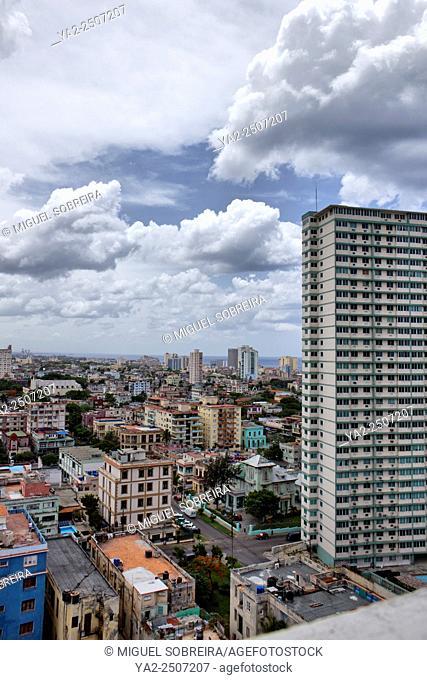 Havana Overview of Buildings - Cuba