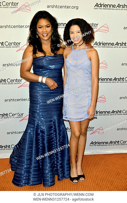 Adrienne Arsht Center's 11th Season Gala Concert: A Celebration of Women in the Arts at Knight Concert Hall - Arrivals Featuring: Ella Thomas